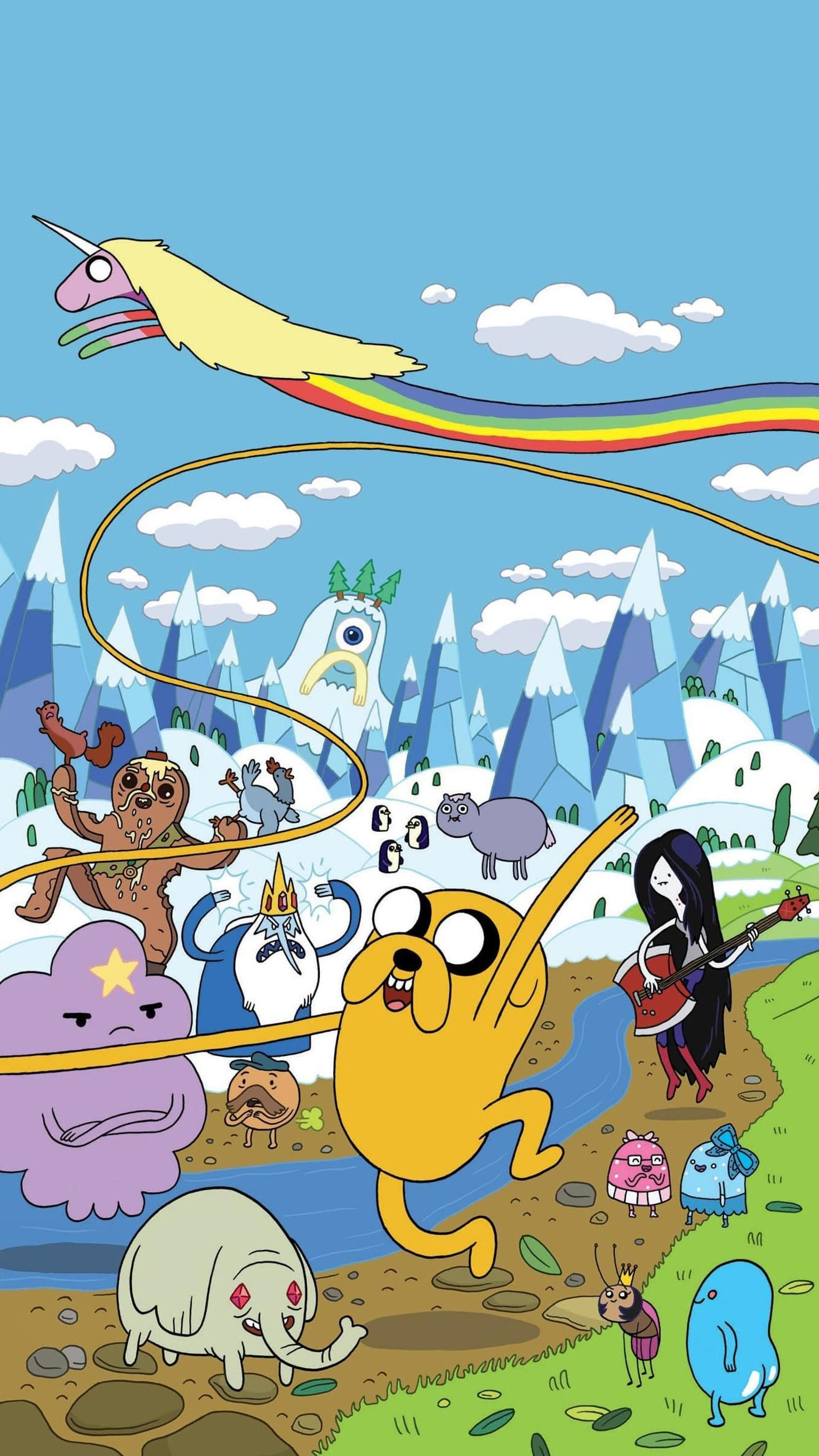 Adventure Time Phone Wallpaper Moviemania Adventure Time Wallpaper Adventure Time Background Adventure Time Characters
