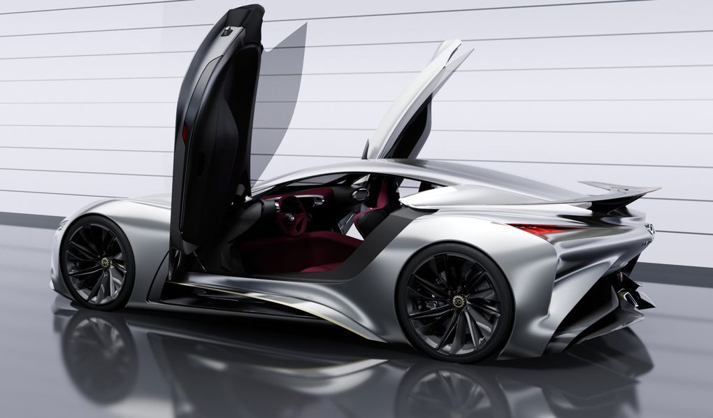 Infiniti's Concept Vision Gran Turismo supercar debuts on PlayStation 3 | The Verge