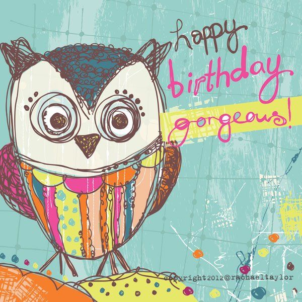We Love Owls With Images Happy Birthday Owl Happy Birthday
