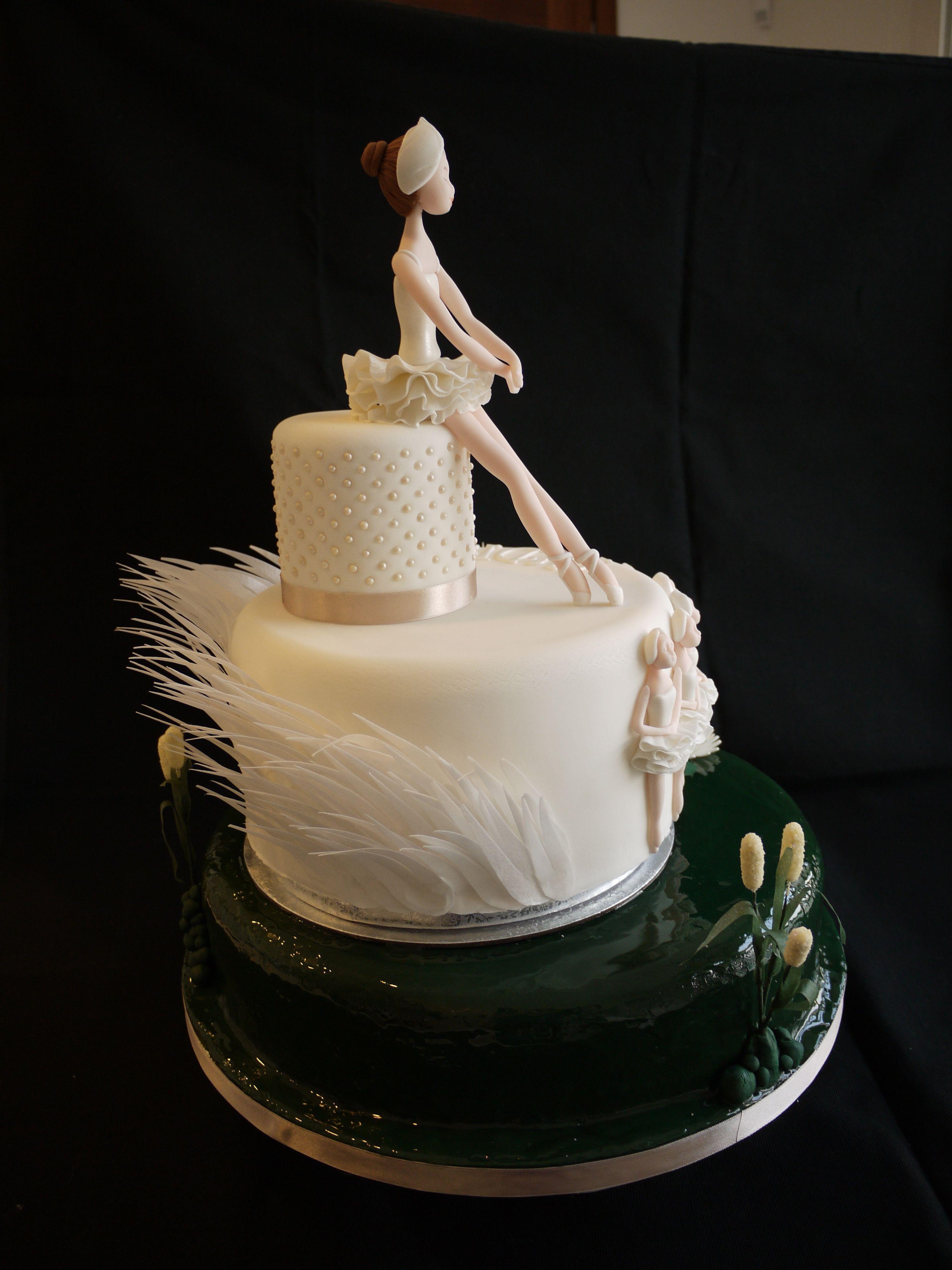 Swan Lake Ballerina Cake Cakes For Girls Pinterest