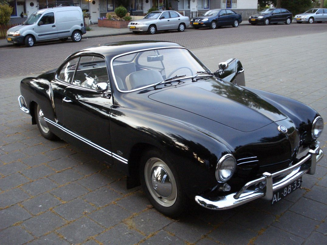 Almost Finished Work On The Old Girl My 1960 Volkswagen Karmann Ghia