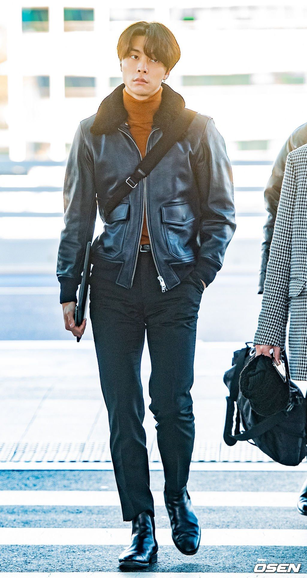 Nct Johnny Airport Fashion Korean Airport Fashion Kpop Fashion Men Nct Johnny