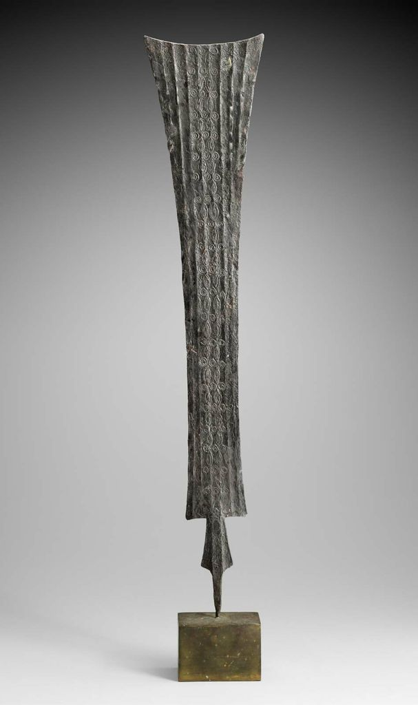 Africa  Cameroon Grassfileds | Blade of a Metal Weapon | 20th century | 53.5 x…