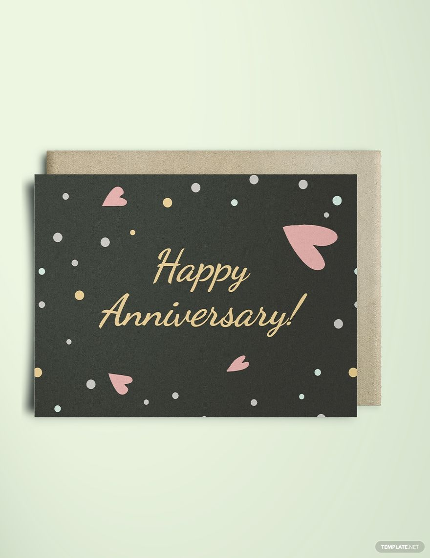 Happy Anniversary Greeting Card Template Word Doc Psd Apple Mac Pages Illustrator Publisher Anniversary Greeting Cards Anniversary Greetings Happy Anniversary