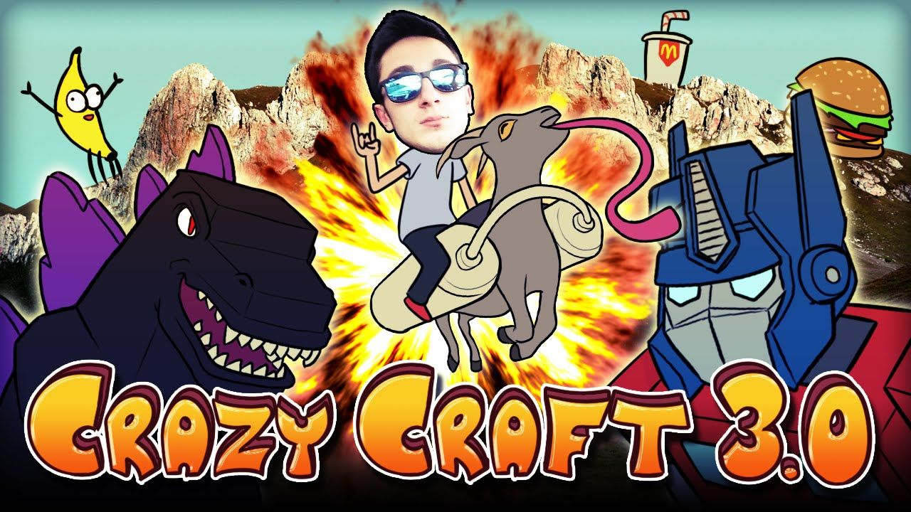 Download Minecraft Crazy Craft Mod Pack 1 13 2 For Windows And Mac From Minecraftore We Offer Best Crazy Craft 3 0 Mod That Have In 2021 Minecraft Crafts Minecraft 1