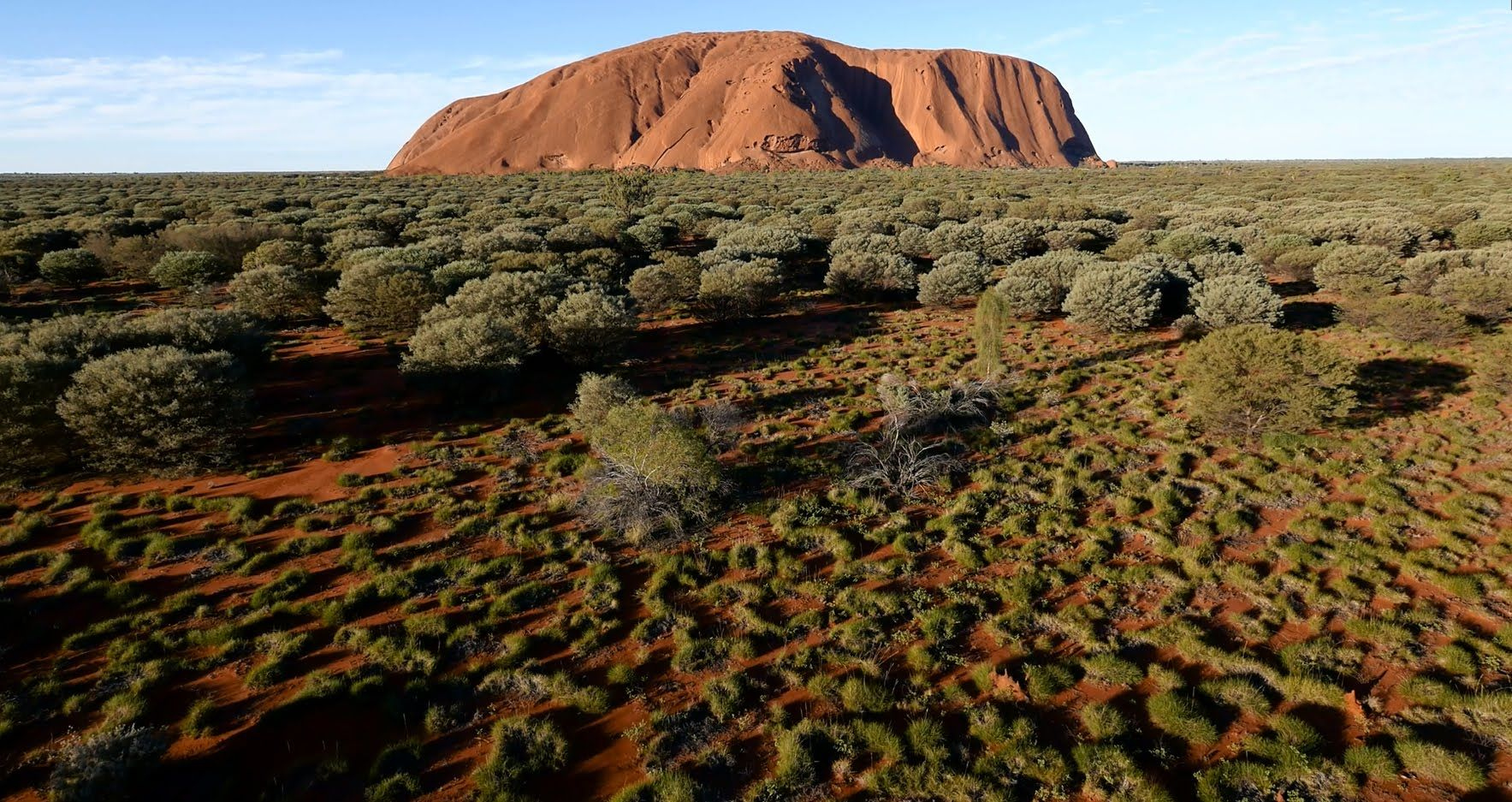 """Footage from the first drone ever allowed over Australia's Uluru-Kata Tjuta National Park"" -Alex"