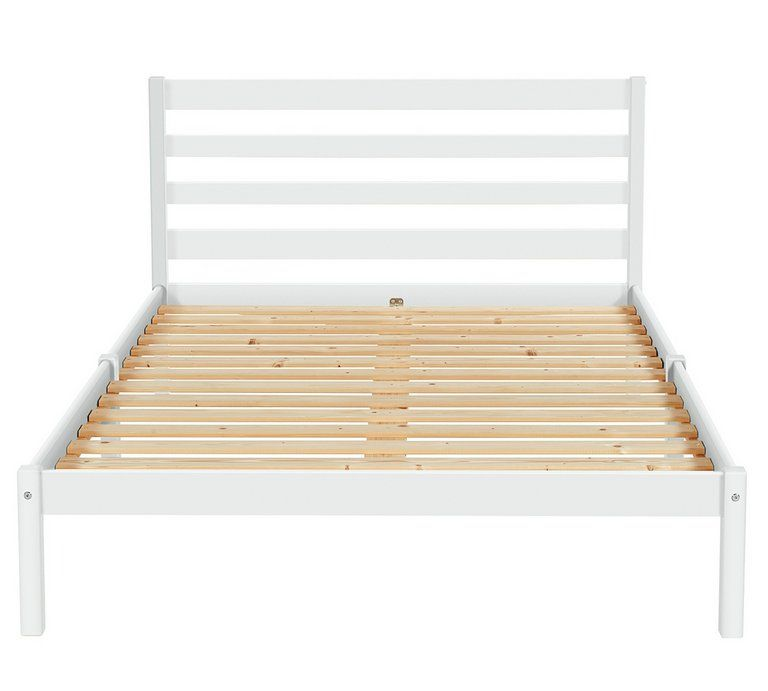 Buy Argos Home Kaycie Small Double Bed Frame White Bed Frames