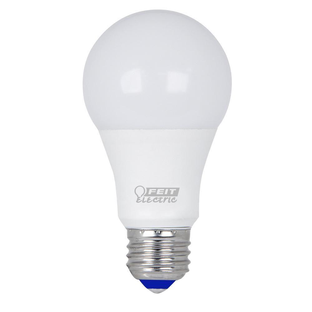 Feit Electric 60w Equivalent Warm White A19 Cold Start Led Light Bulb Case Of 12 Led Light Bulbs Led Light Bulb Light Bulb