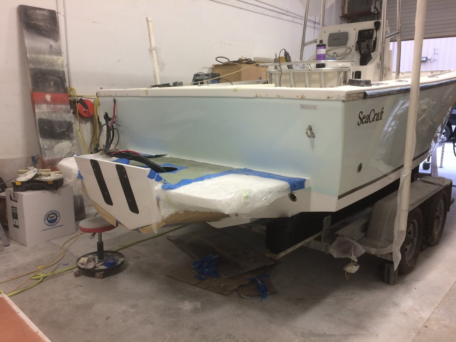 21 Seacraft Bracket Install The Hull Truth Boating And Fishing Forum Boat Boat Seats Hull