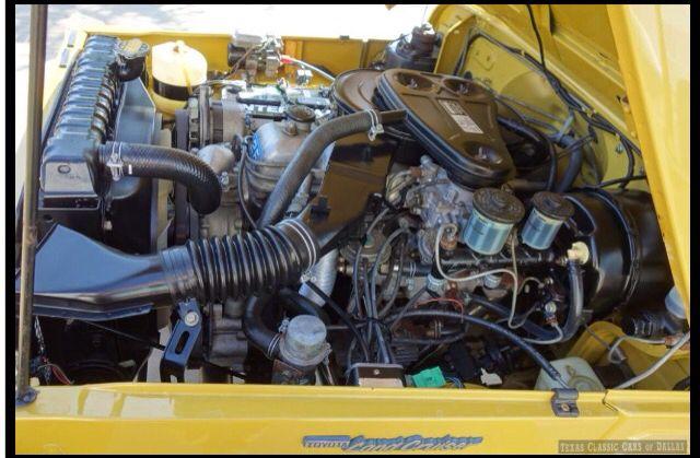 Engine Bay 1976 Fj40 2f Land Cruiser Toyota Land Cruiser
