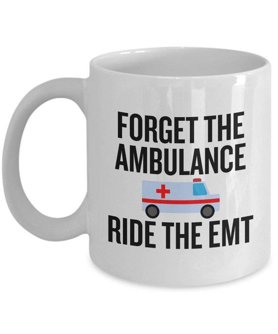 My Other Ride Is An Ambulance Paramedic Funny Black License Plate Frame