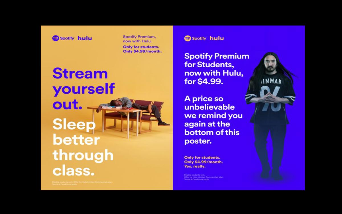 spotify hulu student