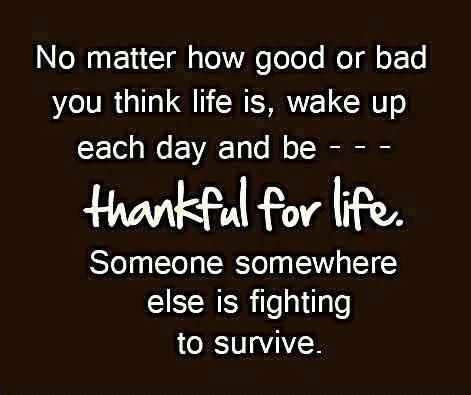 Exceptionnel No Matter How Good Or Bad You Think Life Is, Wake Up Each Day And