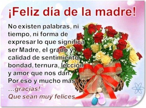 Pin De Fatima Castro En Love Mom Imágenes De Feliz Día Feliz Día De La Madre Mensaje Del Día De La Madre