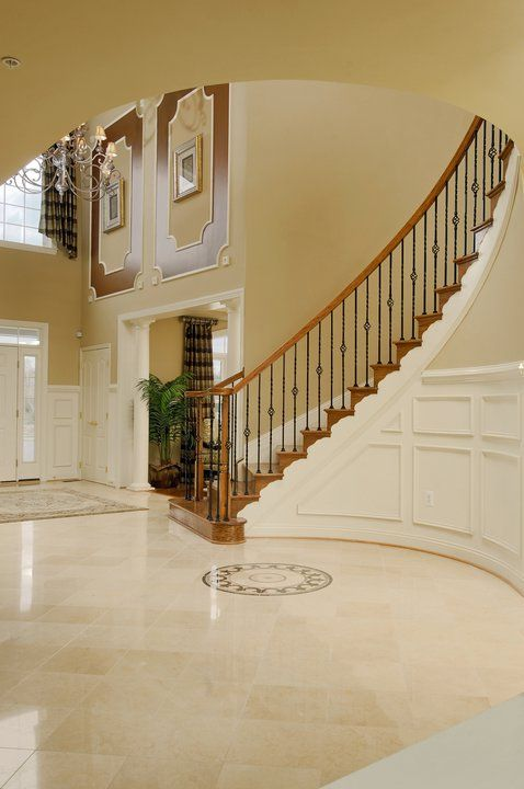 Wow Foyer In Caruso Homes Tara Park Model Home New Homes