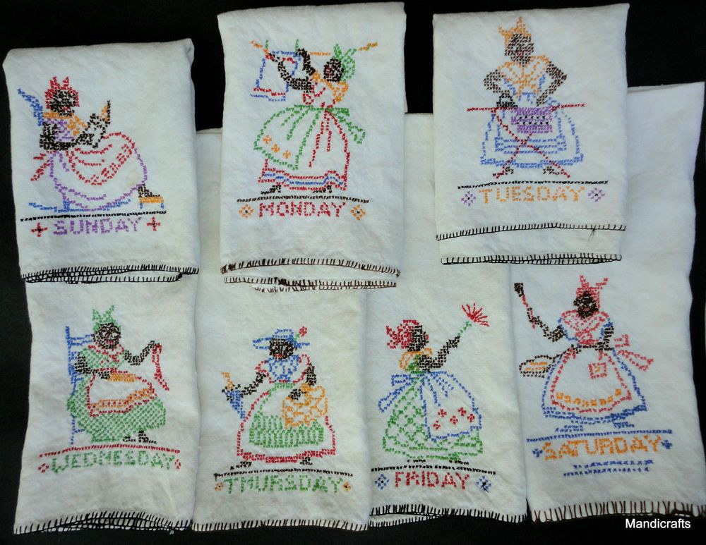Choose Pattern Free Shipping Tradition Set of 2 Embroidered Hand Towels
