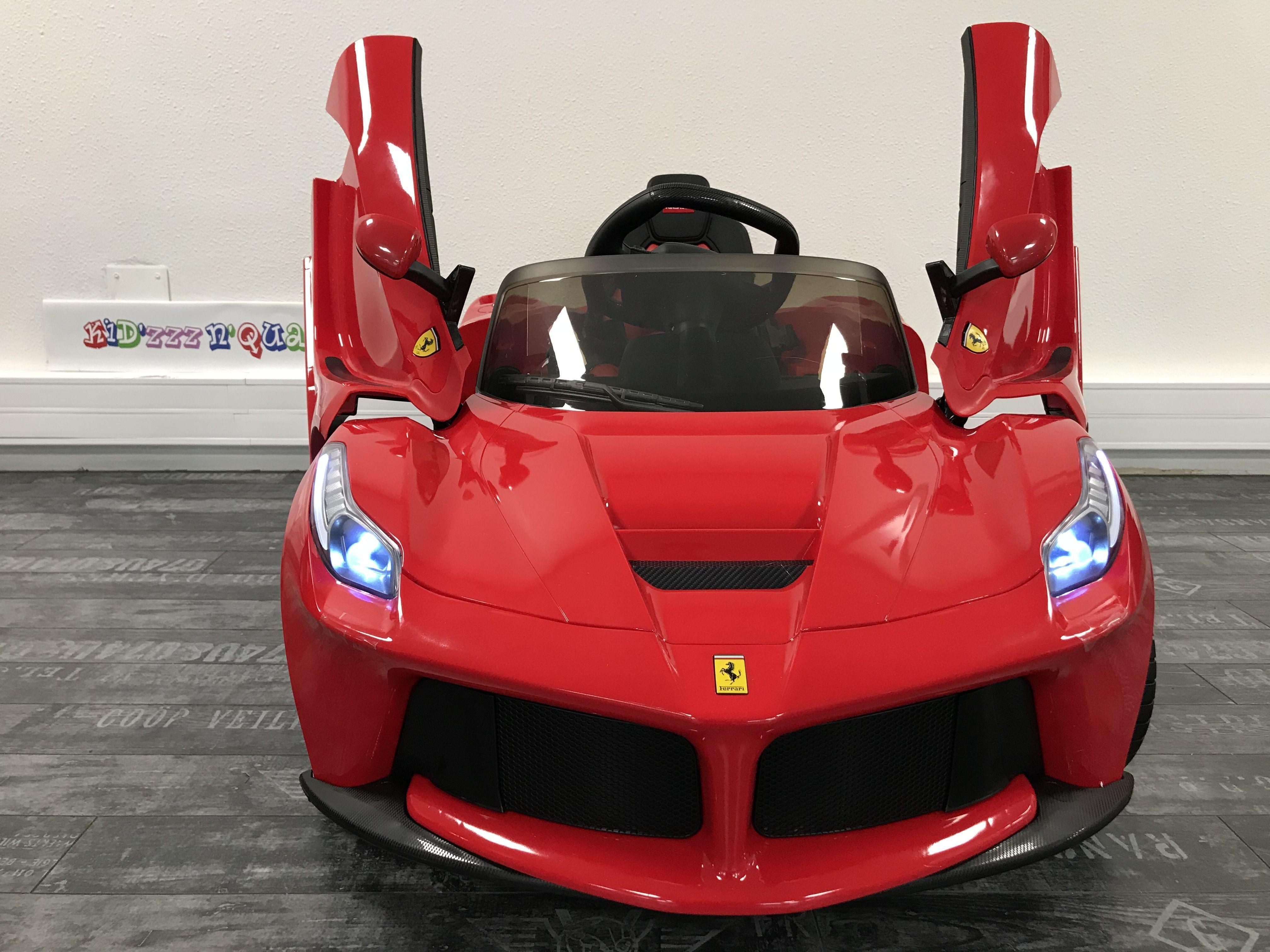 Voiture Bébé 12v Ferrari Fxx K Ferrarilaferrari Cette Voiture Bébé Laferrari 12v Est De Toute Beauté Racée élé Kids Power Wheels Ride On Toys Car Gadgets