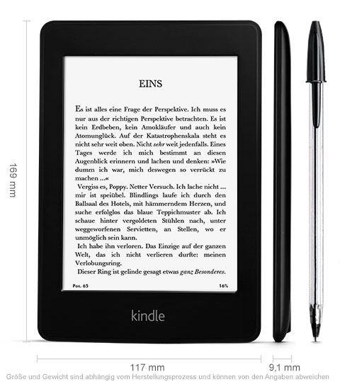 Meine Erfahrungen mit dem Amazon Kindle Paperwhite