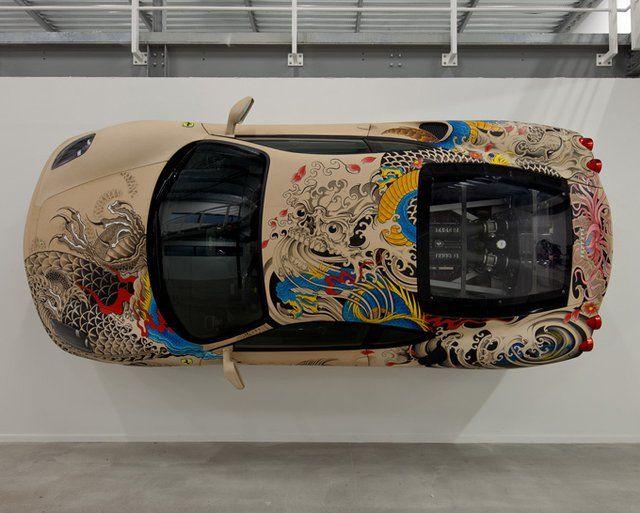 Moderne Phillippe Pasqua and an F430. | Super cars, Ferrari f430, Ferrari SB-01