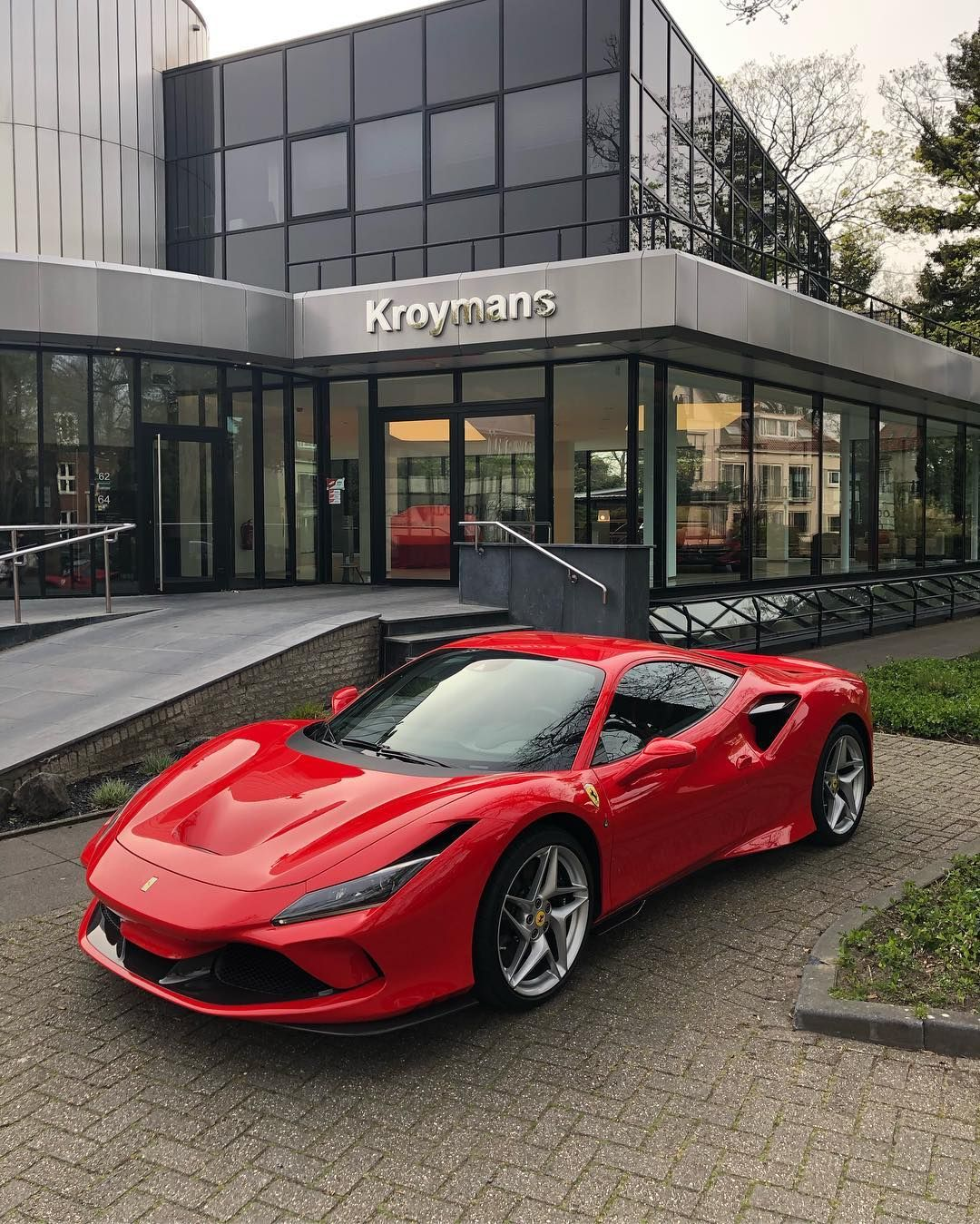 The Ferrari F8 Tributo Has Arrived Ferrari F8tributo Kroymans New Ferrari Super Cars Ferrari Car