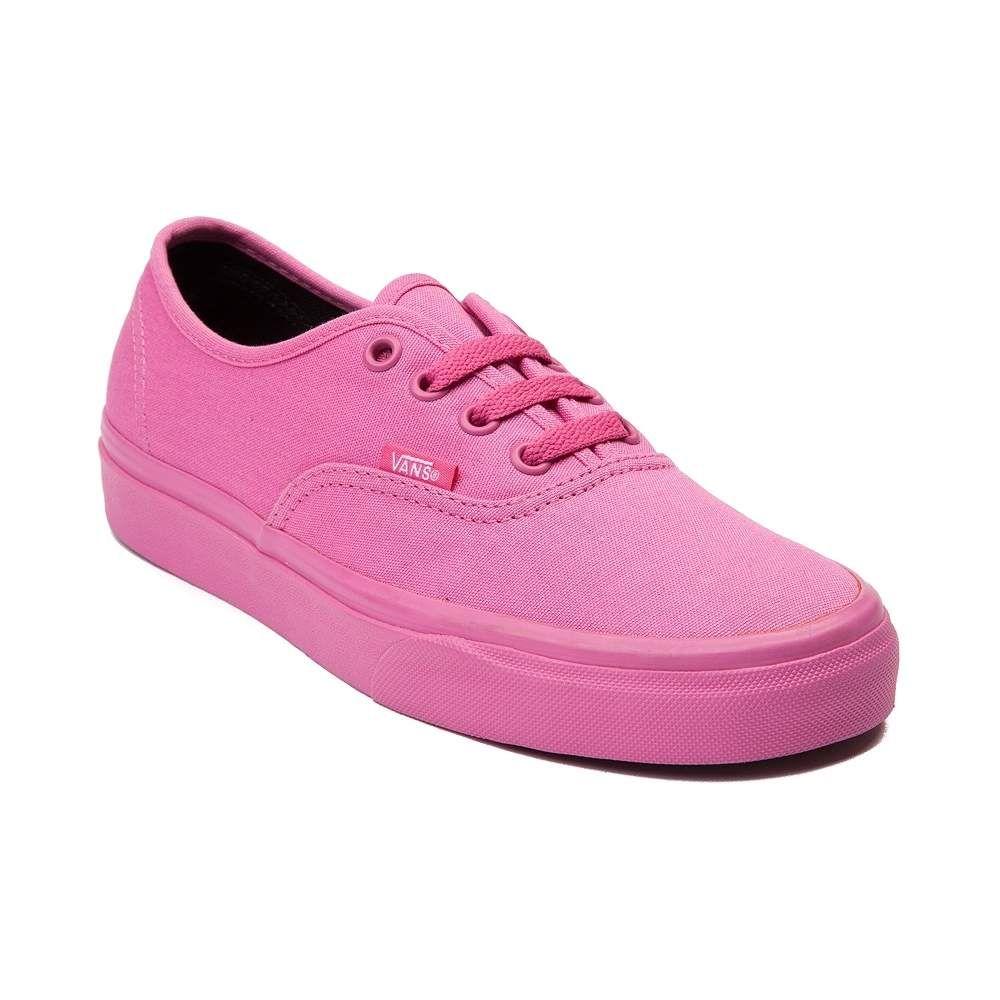 Vans Authentic Skate Shoe Pink