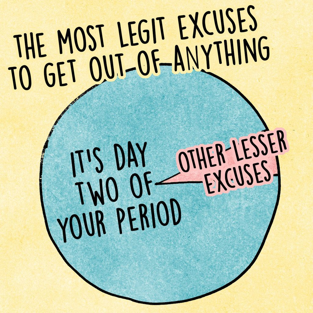 14 Charts For Anyone Who's Ever Had A Period