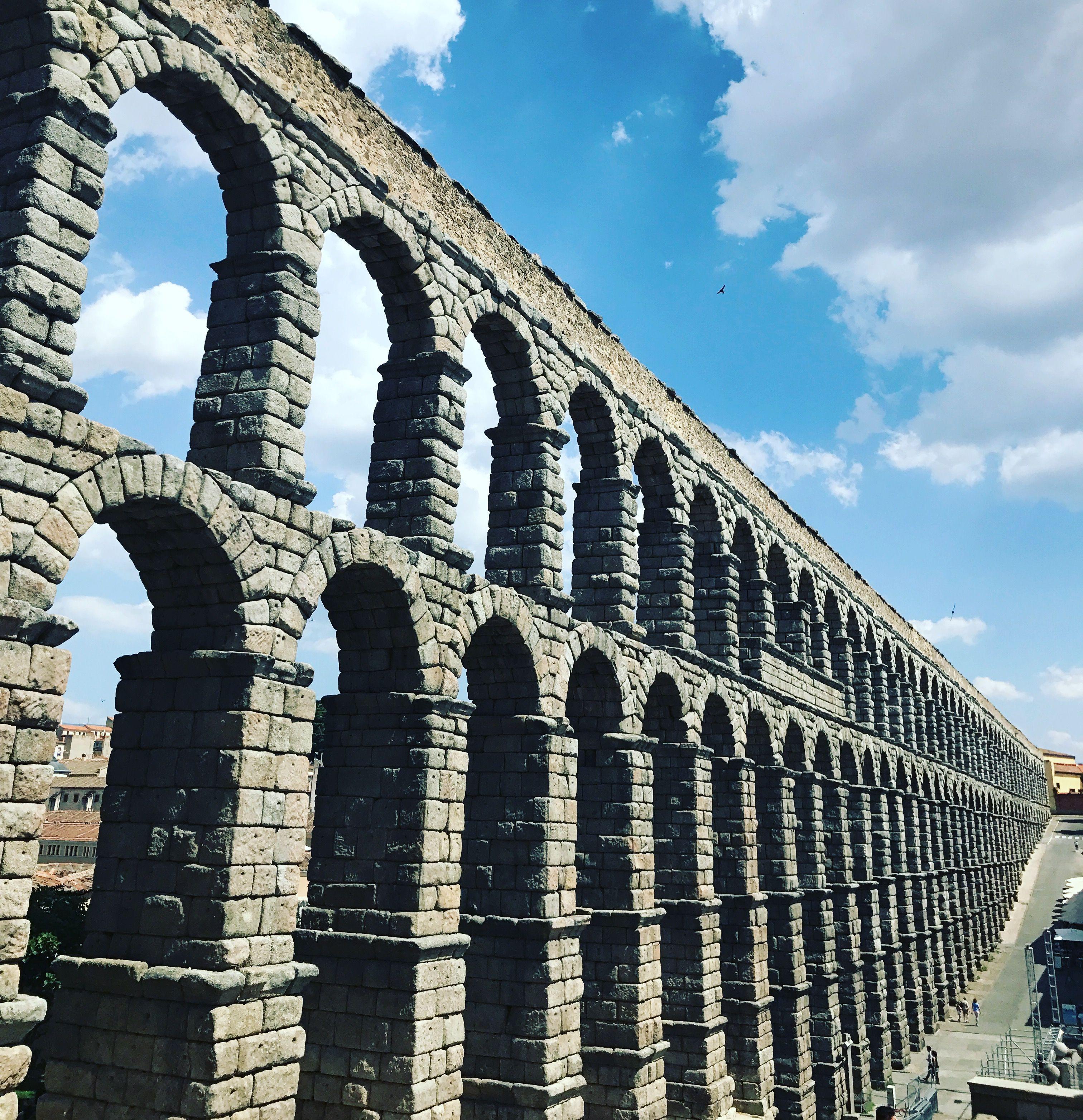 Acueducto de segovia espa a arquitectura y ambientes pinterest - Acueducto de segovia arquitectura ...