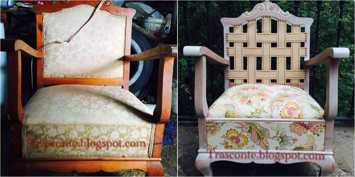Proceso de restauración de un sillón de madera | artesania ...