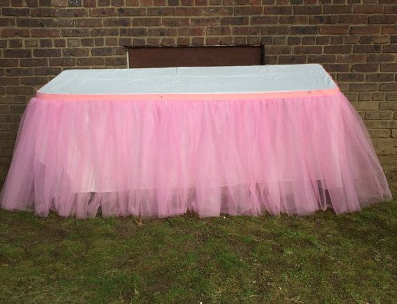 Prime Tulle Ruffle Table Skirt Tulle Tutu Table Skirts Candy Download Free Architecture Designs Ferenbritishbridgeorg
