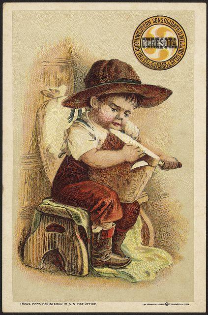 flour advertising Ceresota vintage
