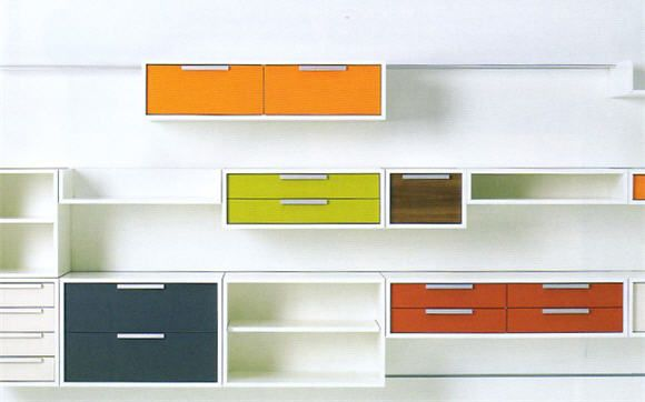 Muunto S Wall Mounted Modular Storage Systems Look Dazzling Better Than Permanent Fixtures