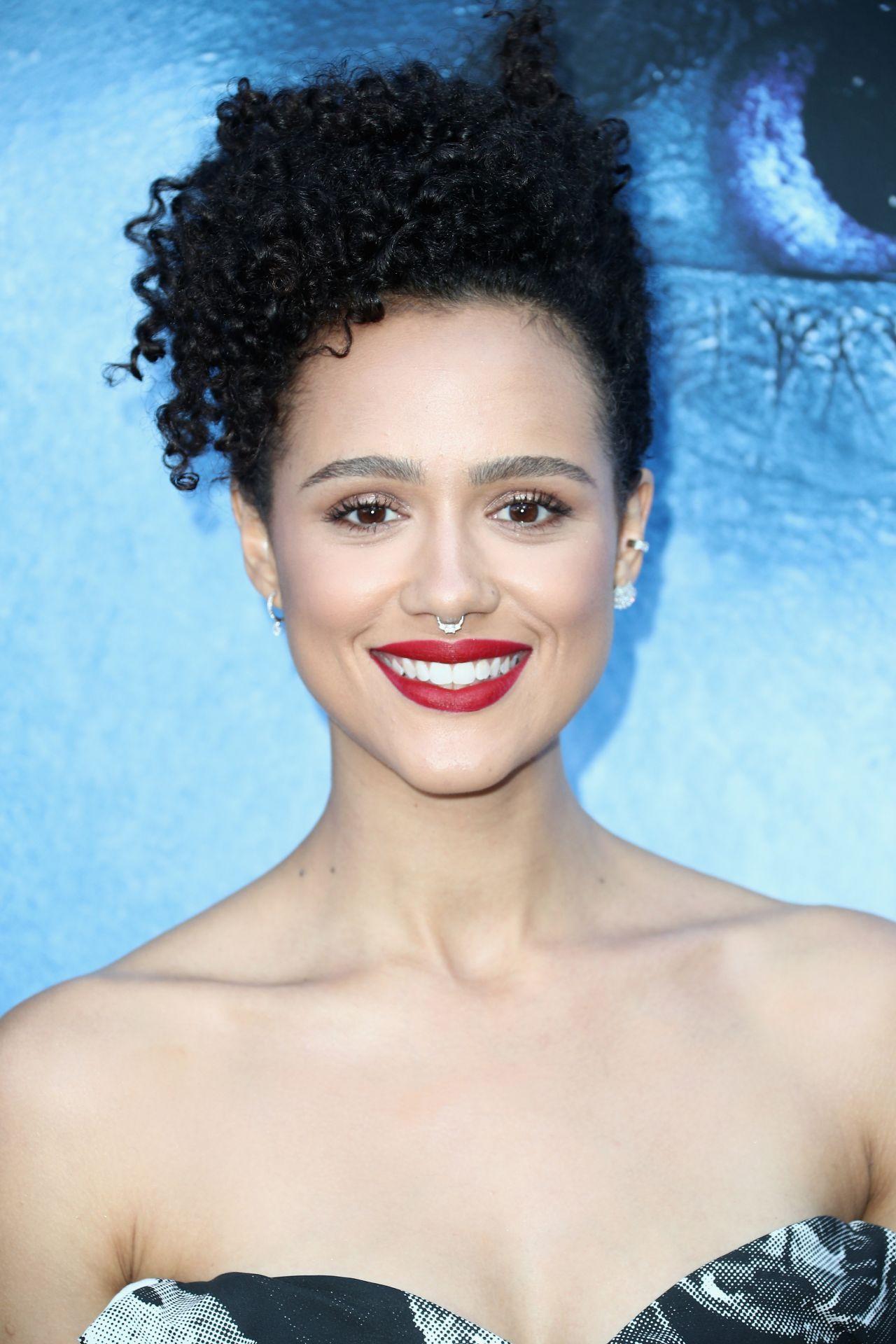 Nathalie Emmanuel at Game of Thrones Season 7 Premiere in