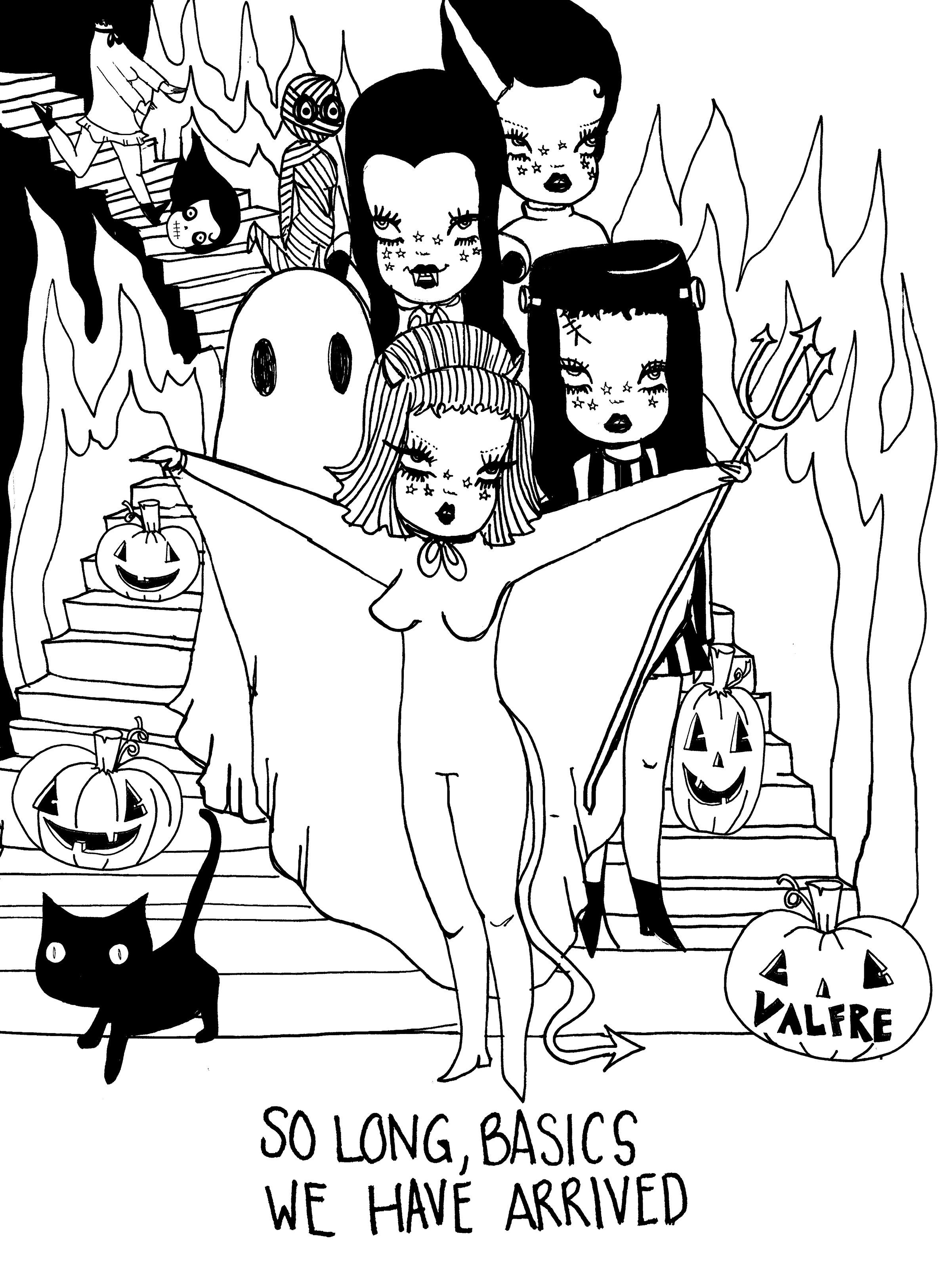 Valfrecolorme Coloring Pages Coloring Pages Halloween Coloring Pages Halloween Coloring
