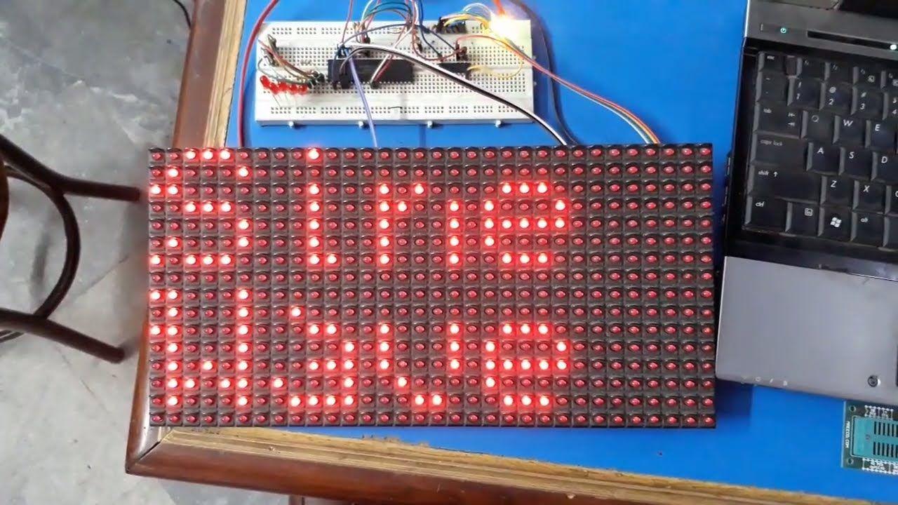 16X32 LED Dotmatrix | P10 LED Matrix | P10 Matrix with