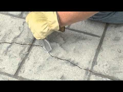 Quikrete Sealing And Waterproofing Cracks In Concrete Repair Concrete Driveway Repair Concrete