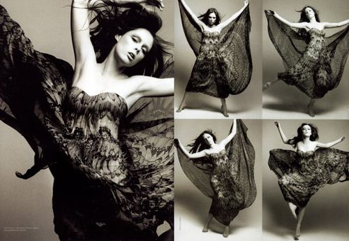 coco-rocha- knows how to work a garment!