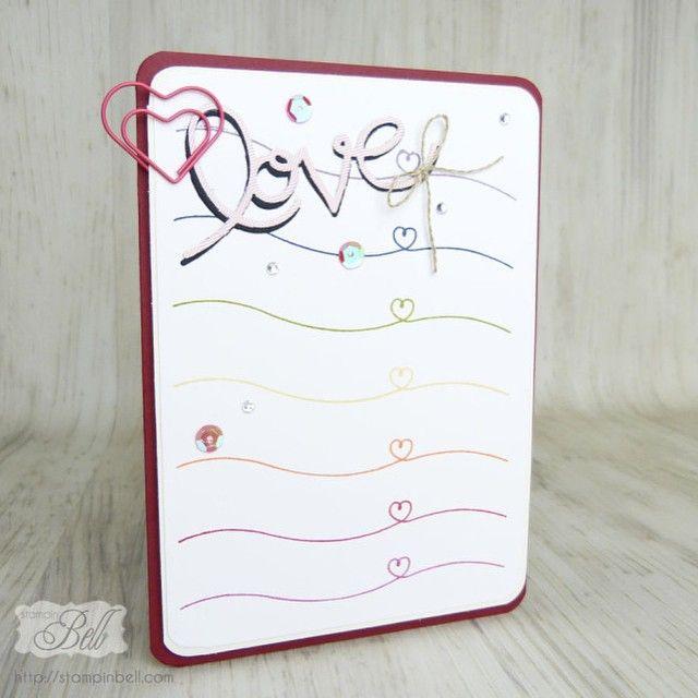 hellolife stampinup valentinesday mothersday birthdaycard happybirthday love handmade valentinstag stempelliebe muttertag geburtstagskarte