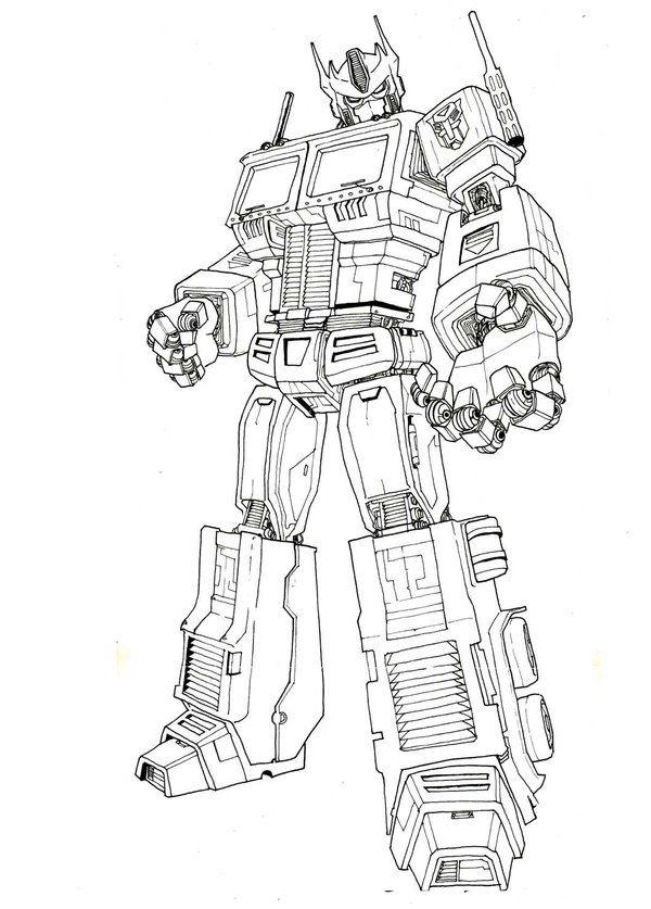 Optimus Prime Ink by Maxduro.deviantart.com on @DeviantArt