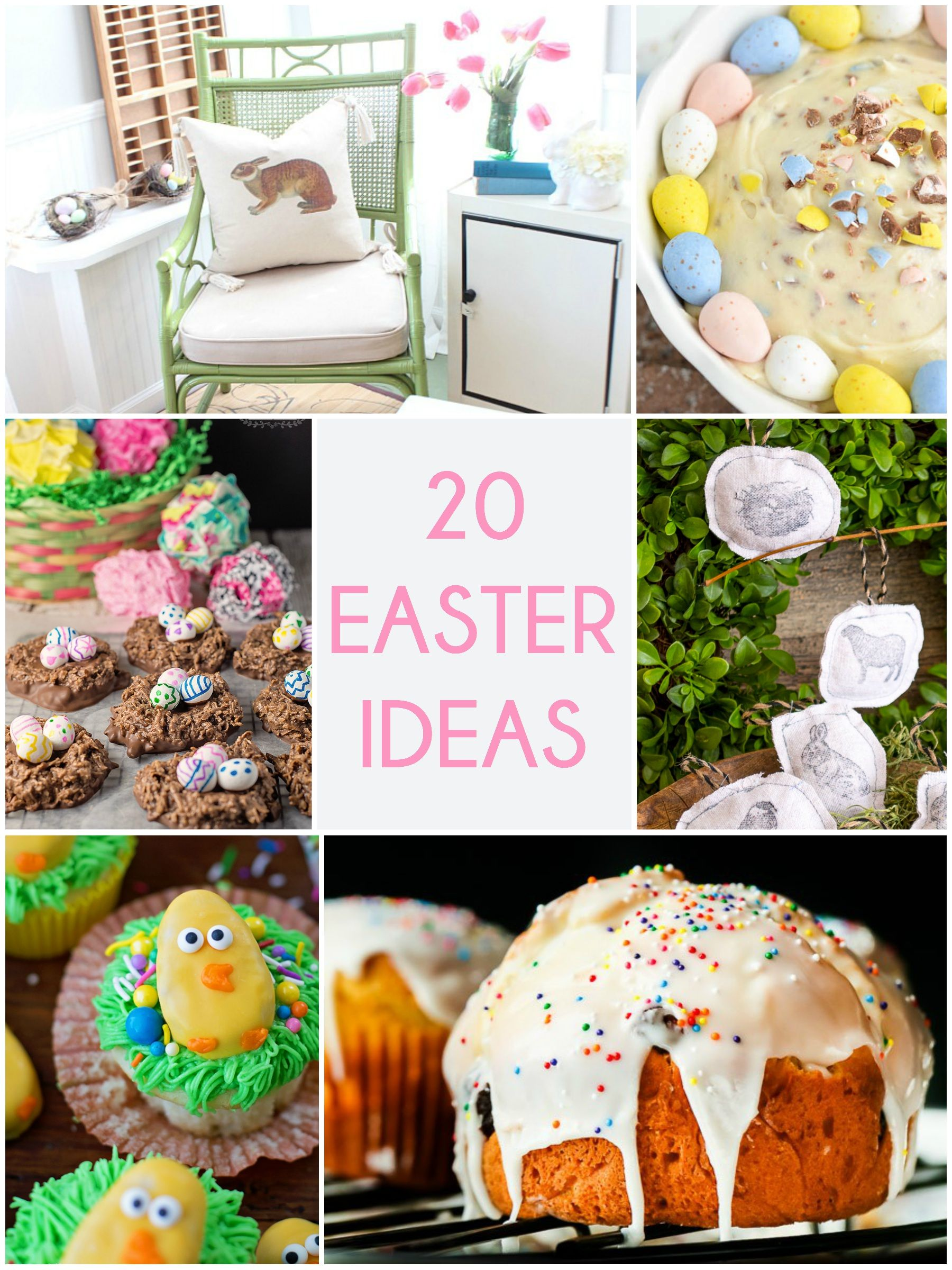 Great ideas 20 easter ideas easter holidays and easter party great ideas 20 easter ideas negle Choice Image