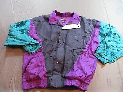 Mens Vintage 90s Pierre Cardin Color Block Track Jacket Windbreaker Size L Vintage Men Windbreaker Track Jackets