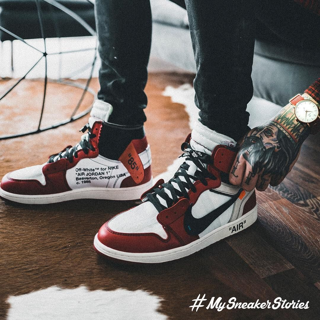 The first Air Jordan 1 from the Off
