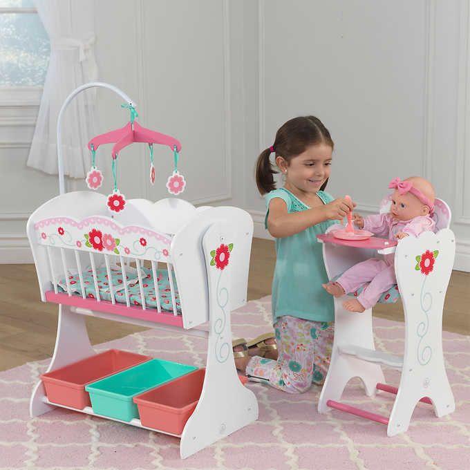 Kidkraft Sweet Roses Doll Furniture Set Doll Furniture Baby