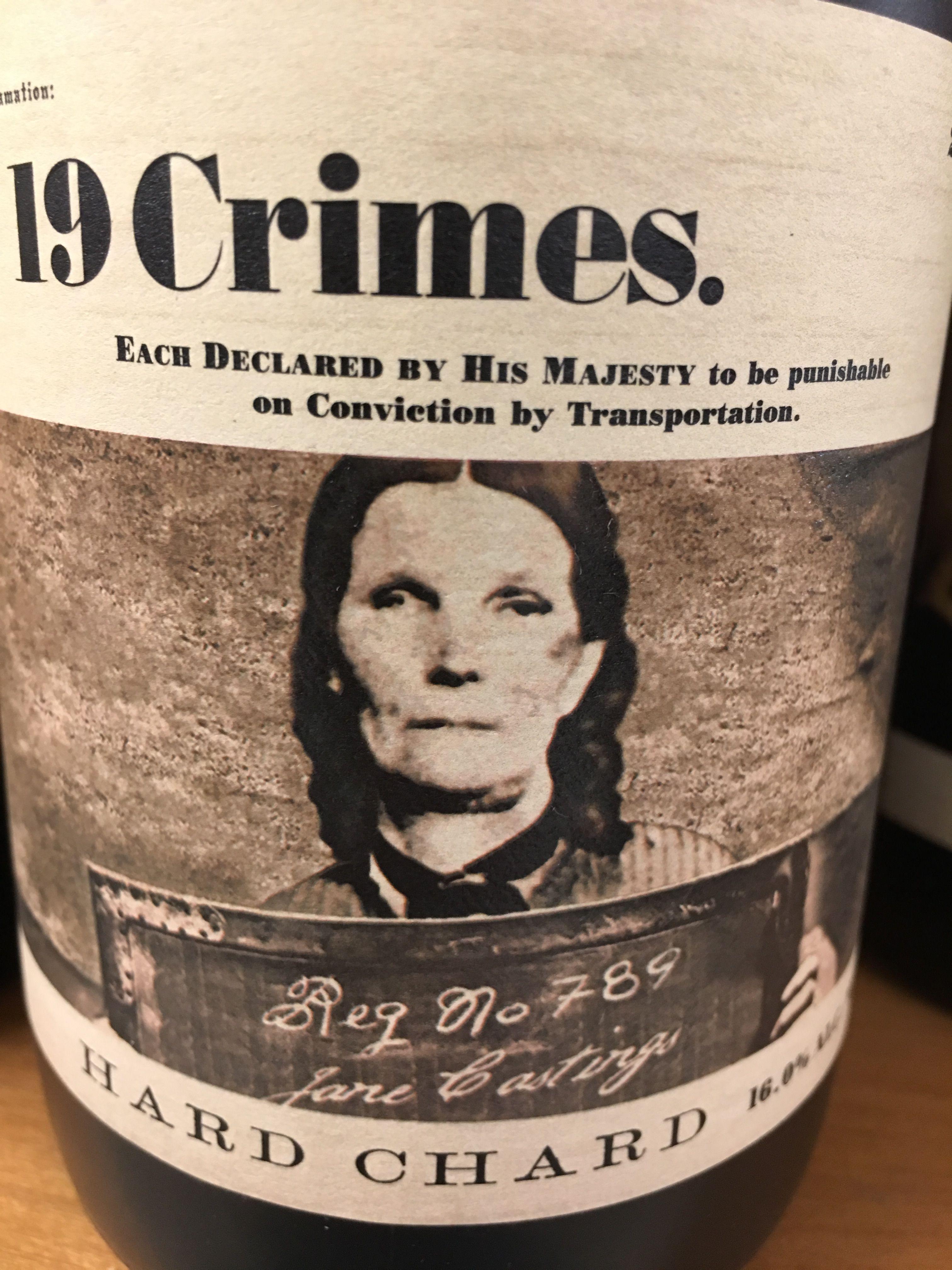 19 Crimes wine 19 crimes wine, Wine variety, Wine