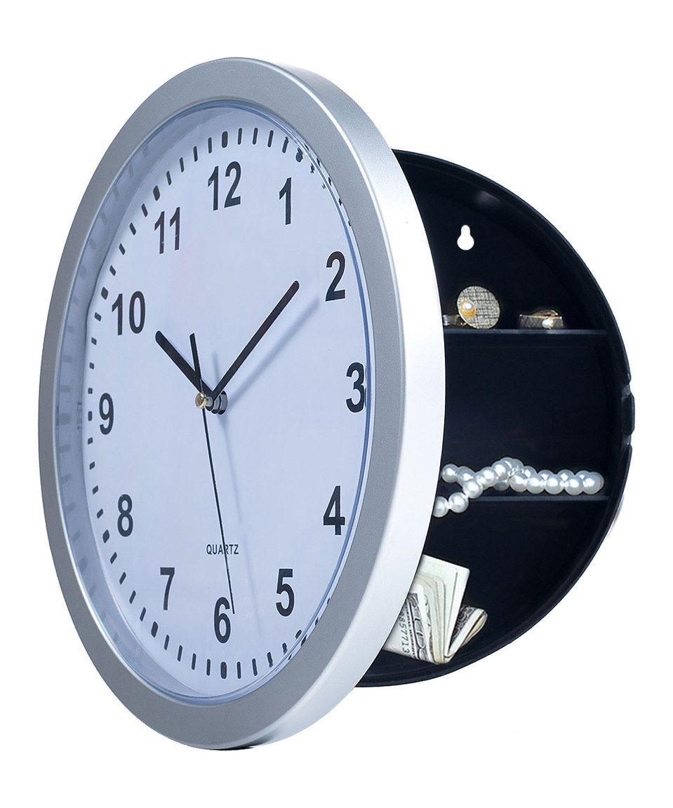 Another Great Find On Zulily Outlet Amp Wall Clock Hidden