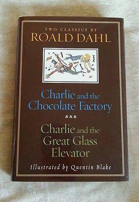 Charlie & the Chocolate Factory + Great Glass Elevator 2003 HCDJ