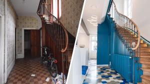 Avant - Après : la transformation saisissante d'un ancien squat en maison familiale #homestagingavantapres