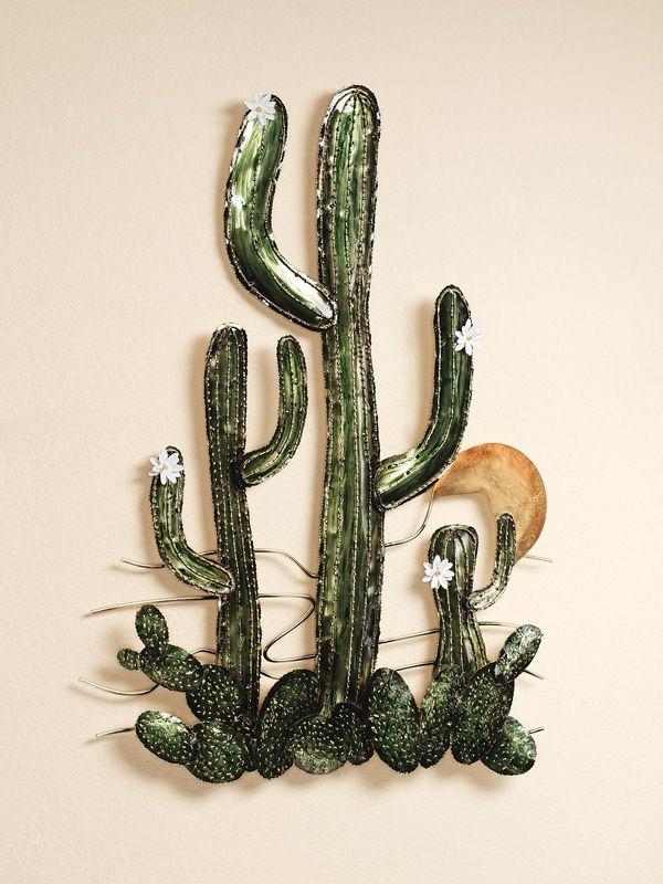 blooming desert metal wall sculpture by jasonw studios on metal wall art id=67026