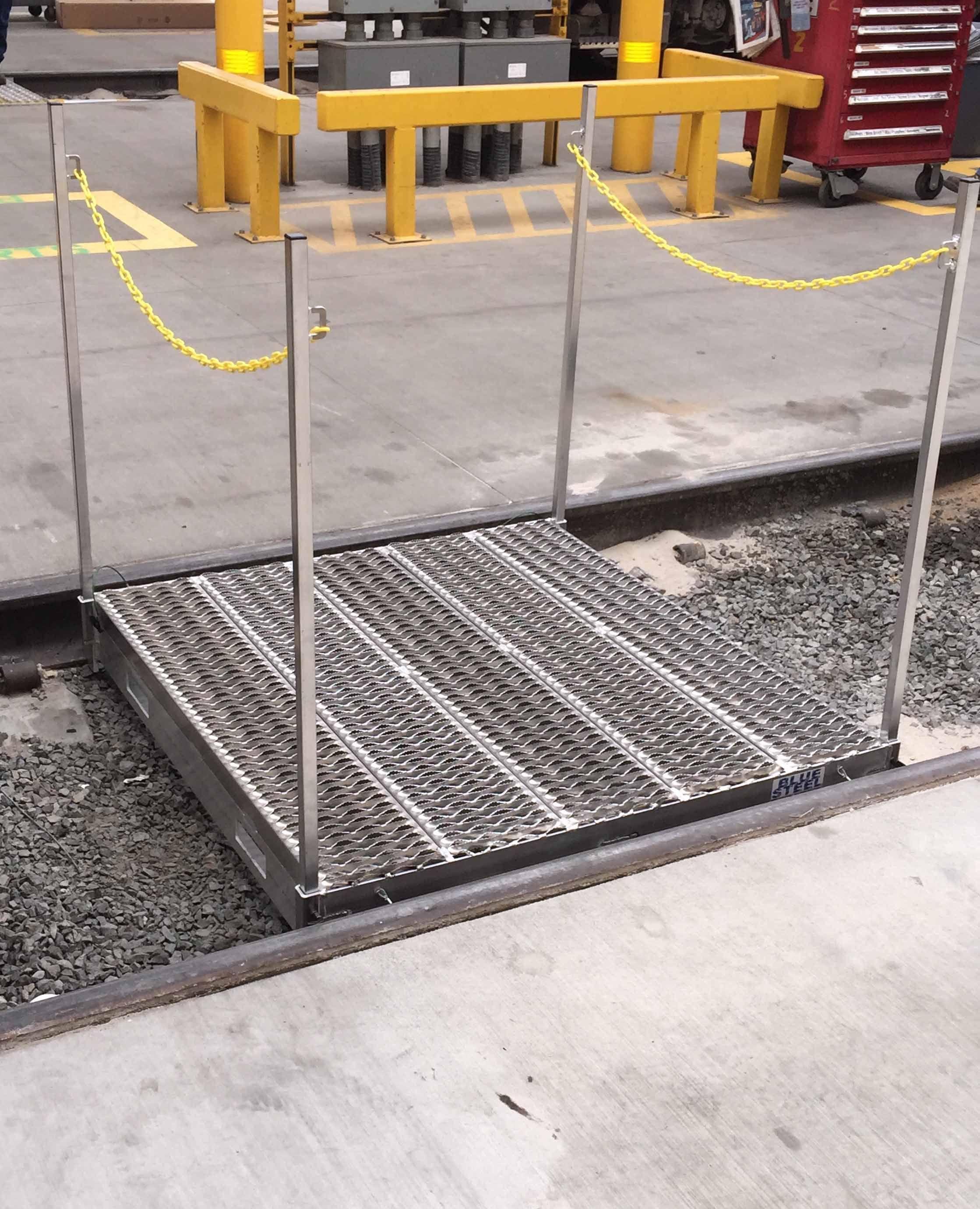 Inrail Aluminum Crossover Bridge Work tools, Crossover