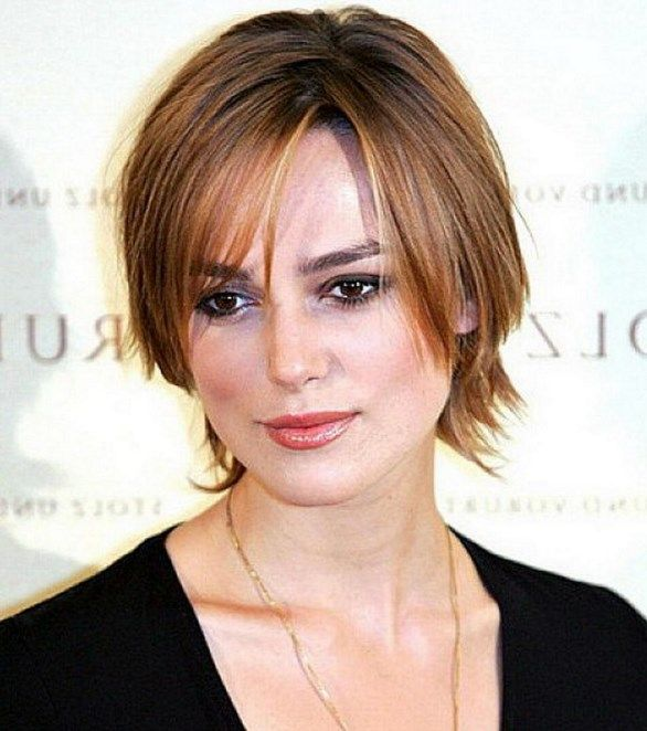Best Hairstyles For Fine Hair Over 40: Women Hairstyles : Celebrity Short Hairstyles With Layers