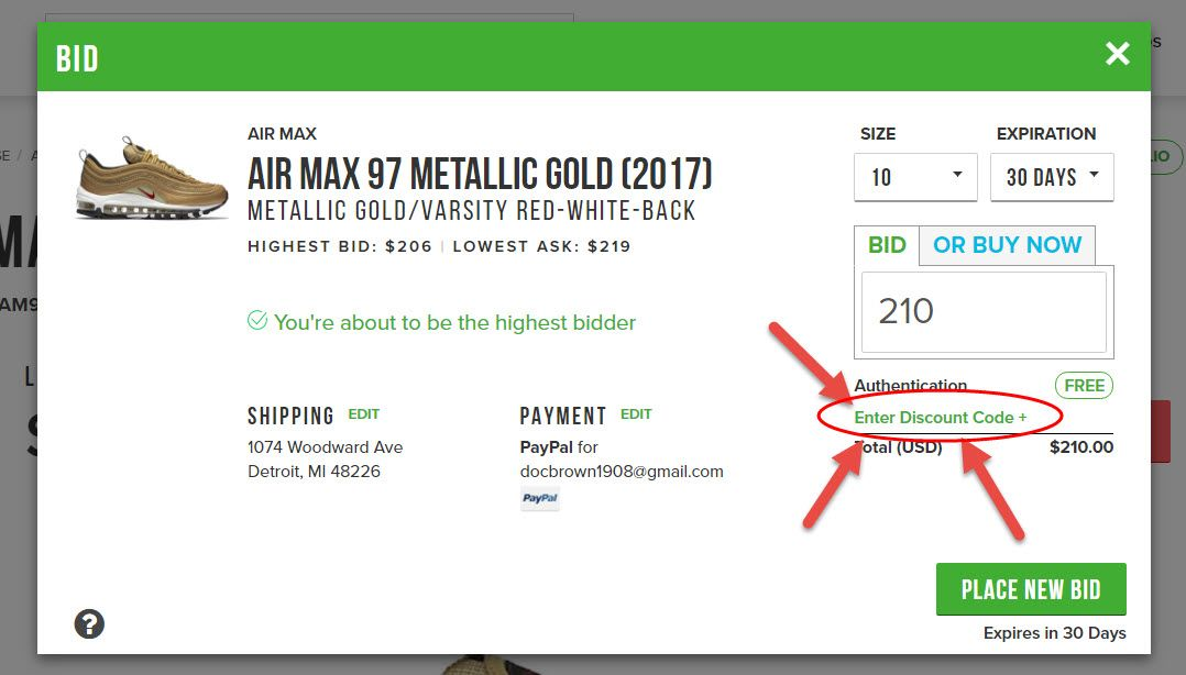 300 off w latest stockx discount code coupons 2020